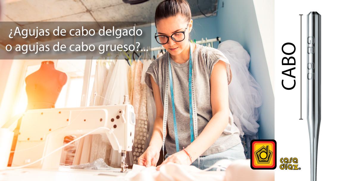 Agujas industriales para máquina de coser